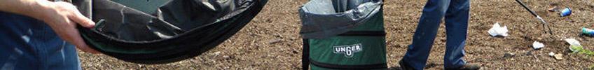 Уборка опавших листьев и мусора