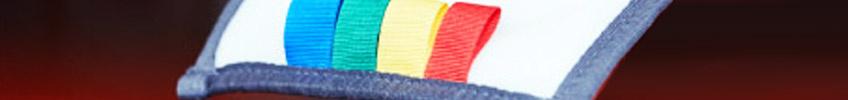 Уборочный инвентарь с цветовой кодировкой
